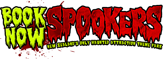 Spookers Haunted Attractions Logo